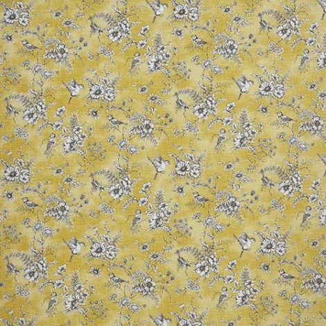 Finch Toile- buttercup